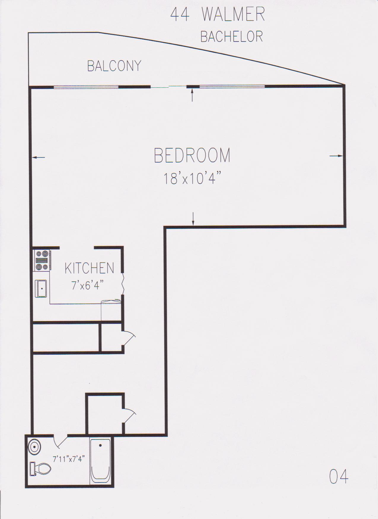 Floor plan for bachelor flat 28 images edmonton for Bach floor plans