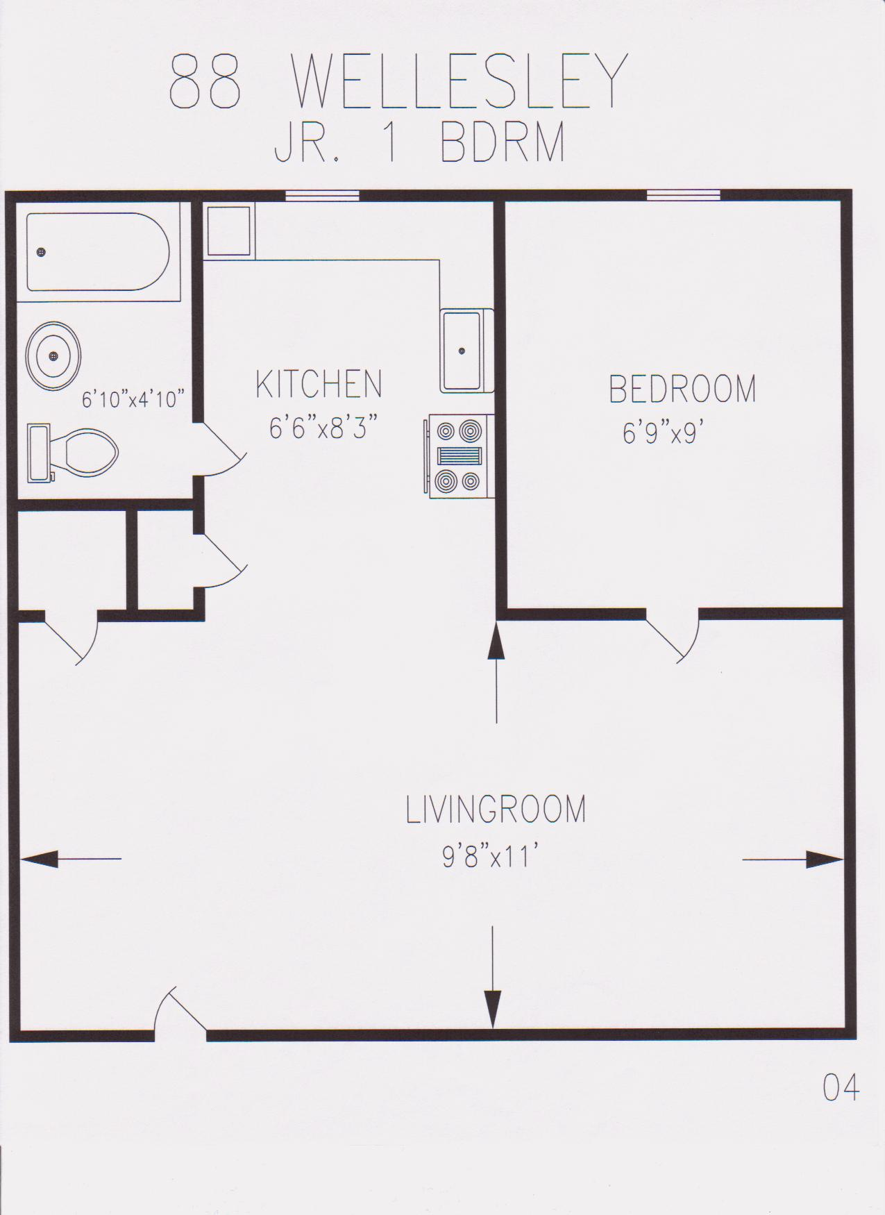 2 Bedroom Loft Apartment Floor Plan moreover 1000 Square Foot House Plans moreover 550 Square Feet Apartment Floor Plan besides 250 Sq FT Studio Apartment Floor Plans likewise mercial Apartment Building Design. on 400 sq ft apartment plans